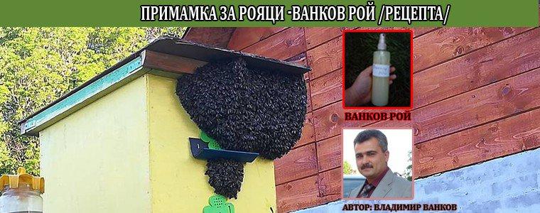 Ванков Рой - рецепта примамка за рояци и пчели (Автор: Владимир Ванков)